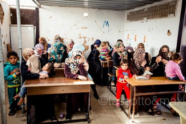 Zaatari, scuola